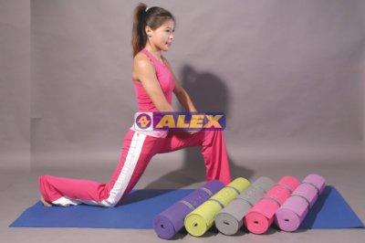 【斯伯特】ALEX C-1803 瑜珈墊 附背袋 另售 拉力繩 重訓手套 瑜珈磚 韻律球 彈力帶 瑜珈滾筒 跳繩 呼拉圈