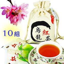 龍源茶品 紅心烏龍紅茶包10袋組(12包/袋) - 共120包