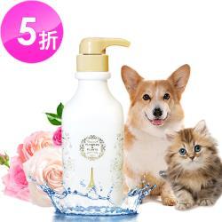 【愛戀花草】玫瑰精油 白毛亮澤寵物沐浴乳1000ML