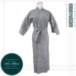 Lassley蕾絲妮-深色格紋睡袍/居家服(童用)