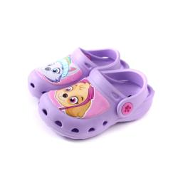 PAW PATROL 狗狗 汪汪 涼鞋 花園鞋 童鞋 粉紫色 中童 D93901-750 no013
