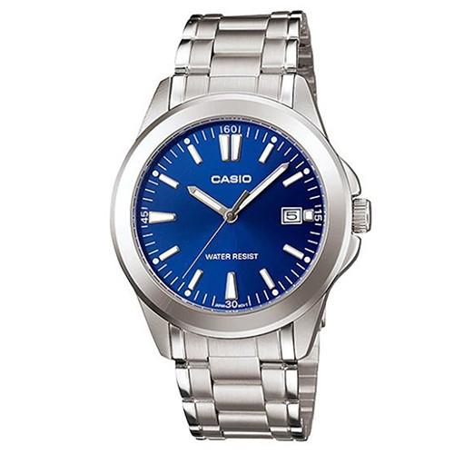 【CASIO】時尚新風格都會指針腕錶-羅馬藍面(MTP-1215A-2A2)正版宏崑公司貨