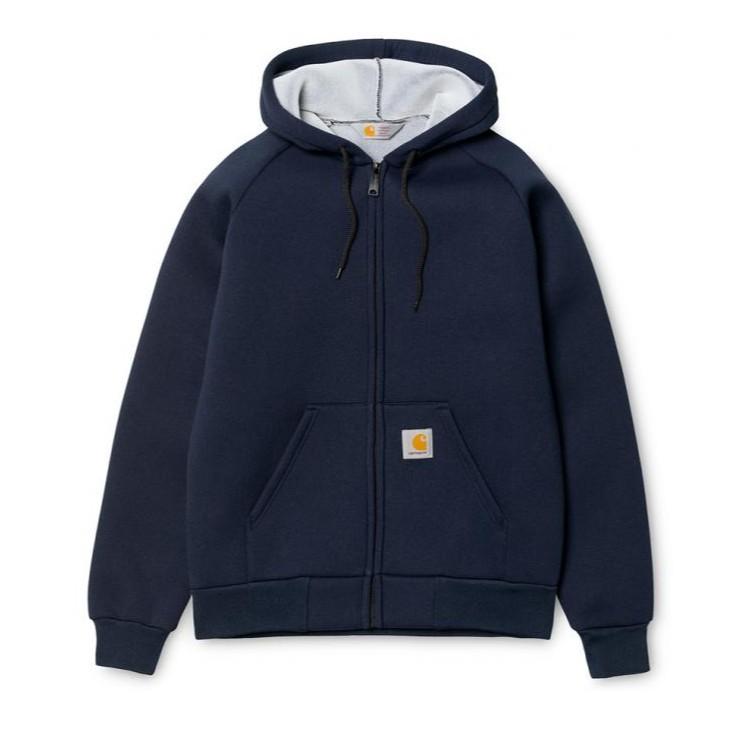Carhartt wip 太空棉料 外套 連帽外套 I018044 深藍色