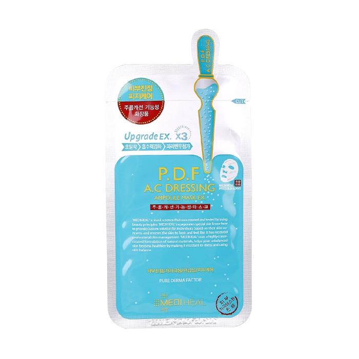 韓國 MEDIHEAL 高效舒緩淨膚保濕導入面膜(單片) 【86小舖】RK00812C1