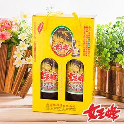 女王蜂 特選純龍眼蜂蜜禮盒800g/罐 * 4罐