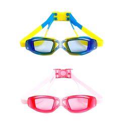 透明平光兒童用防水防霧泳鏡(YY-6331)