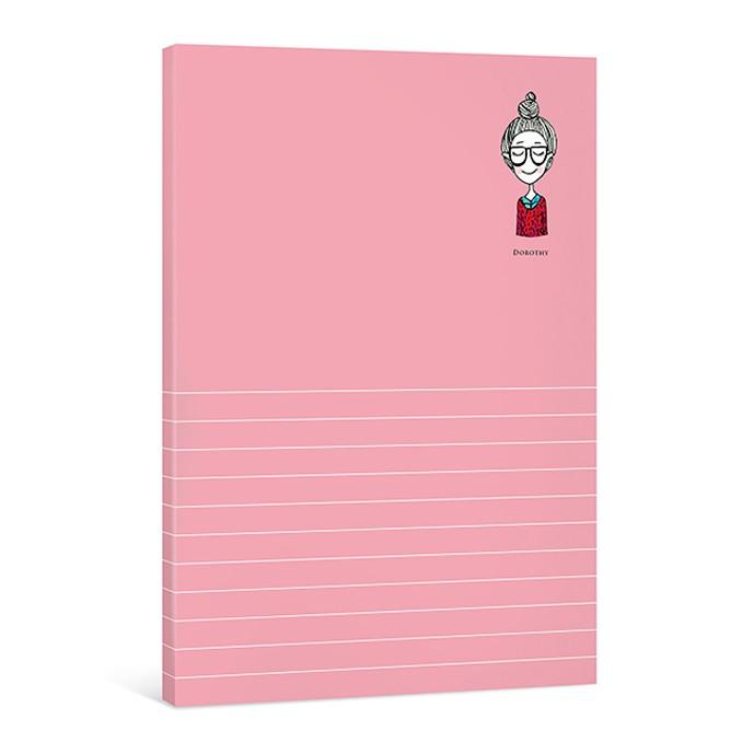 Dorothy簡便萬用月記事本-紅