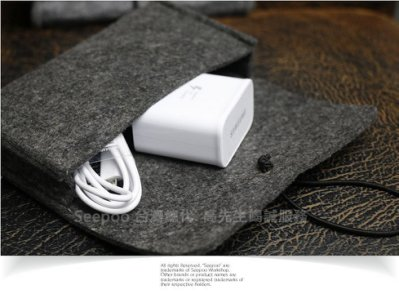 【Seepoo總代】2免運 收納包 鴻海InFocus富可視 M680 M810 多功能 羊毛氈套 手機殼 手機袋 黑灰
