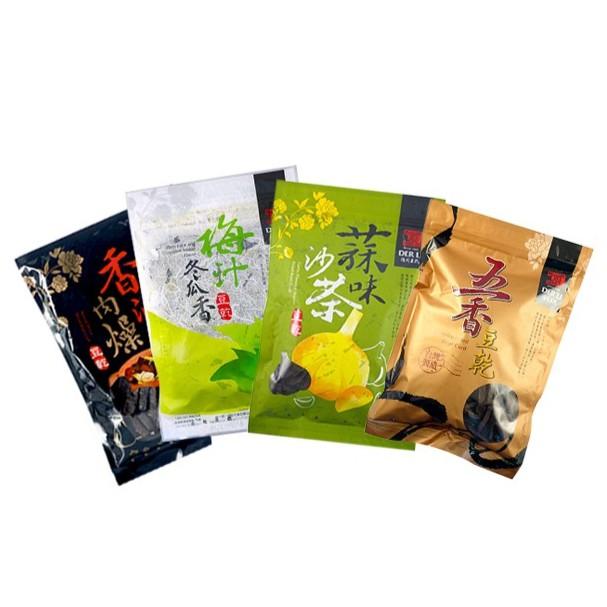 【德利豆乾】 綜合豆乾(五香+蒜味沙茶+梅汁冬瓜+香滷肉燥)(4包一組) - iCarry