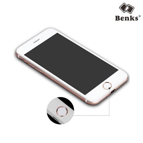 Benks 按鍵貼 iPhone SE 2020 8 7 6s Plus 5s home鍵貼 指紋辨識保護貼
