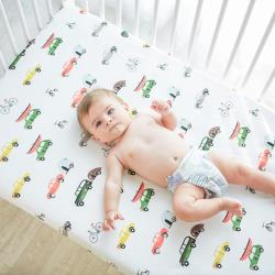 MuslinTree純棉被單嬰兒床單床笠 嬰幼兒床罩