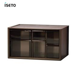 日本ISETO  日製桌上分類抽屜收納盒-L