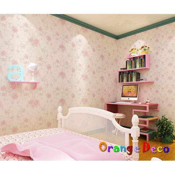【橘果設計】田園風格 自黏壁紙 10米長 多款可選 DIY組合壁貼牆貼室內設計裝潢