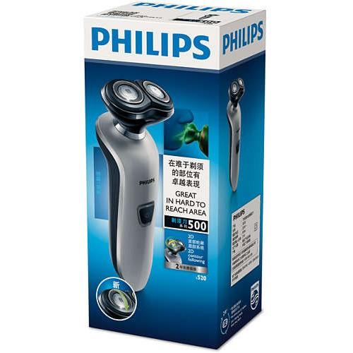 飛利浦PHILIPS 『福利品』 雙刀頭電鬍刀 S520 / S-520