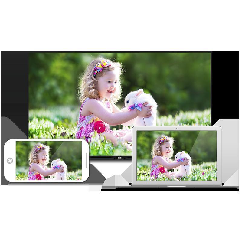 免運費 JVC 55吋 防眩光 低藍光 4K 連網 UHD LED液晶 電視/顯示器 55X (視訊盒另購)