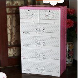 [協賀]海天拼圖寶寶衣櫃兒童衣櫃塑料抽屜式收納櫃