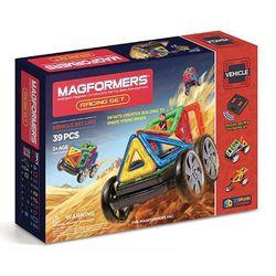 【Magformers 磁性建構片】搖控賽車39pcs ACT06117