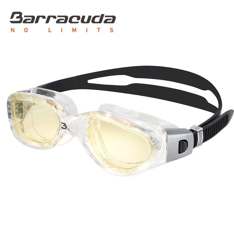 美國Barracuda巴洛酷達 MANTA#13535 成人抗UV防霧泳鏡