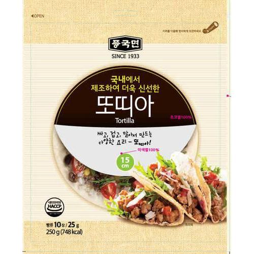 [POONGKUK] 墨西哥捲餅皮10入 [韓國直送]