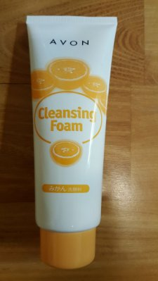 雅芳潔容霜、橘子洗面乳、 橘香洗面乳