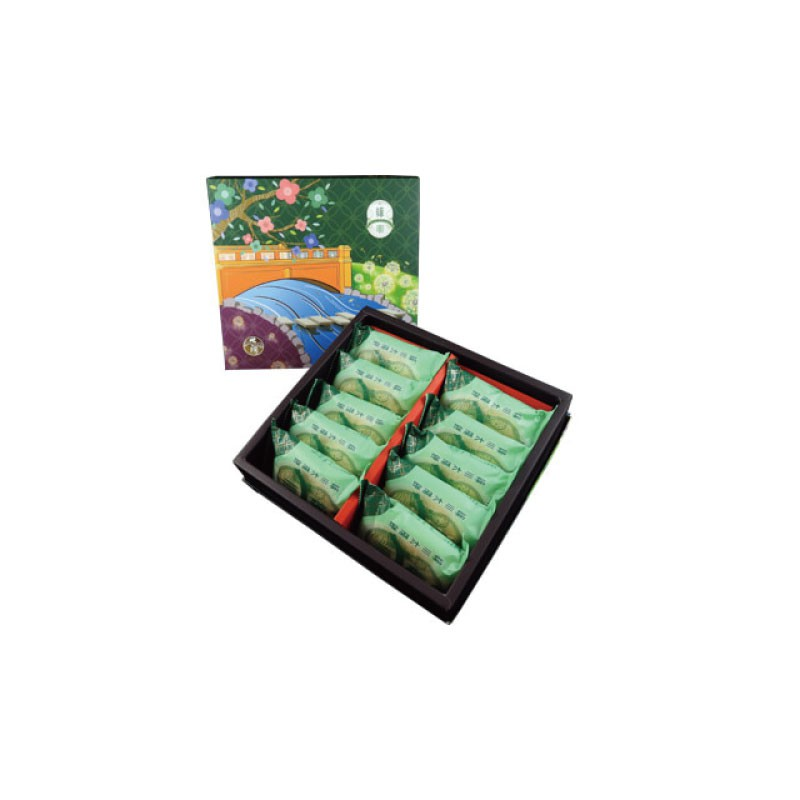 【九個太陽】台中獨家綠川餅×2盒 iCarry
