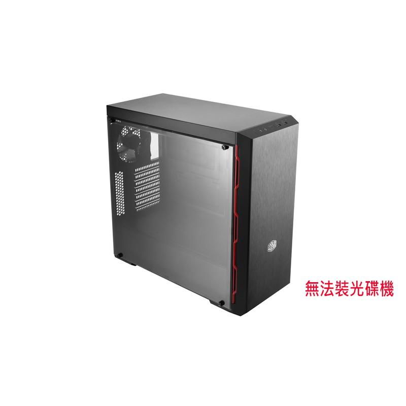 Cooler Master 酷碼 MasterBox MB600L 紅 無法裝光碟機 機殼 電腦機殼 顯卡長40