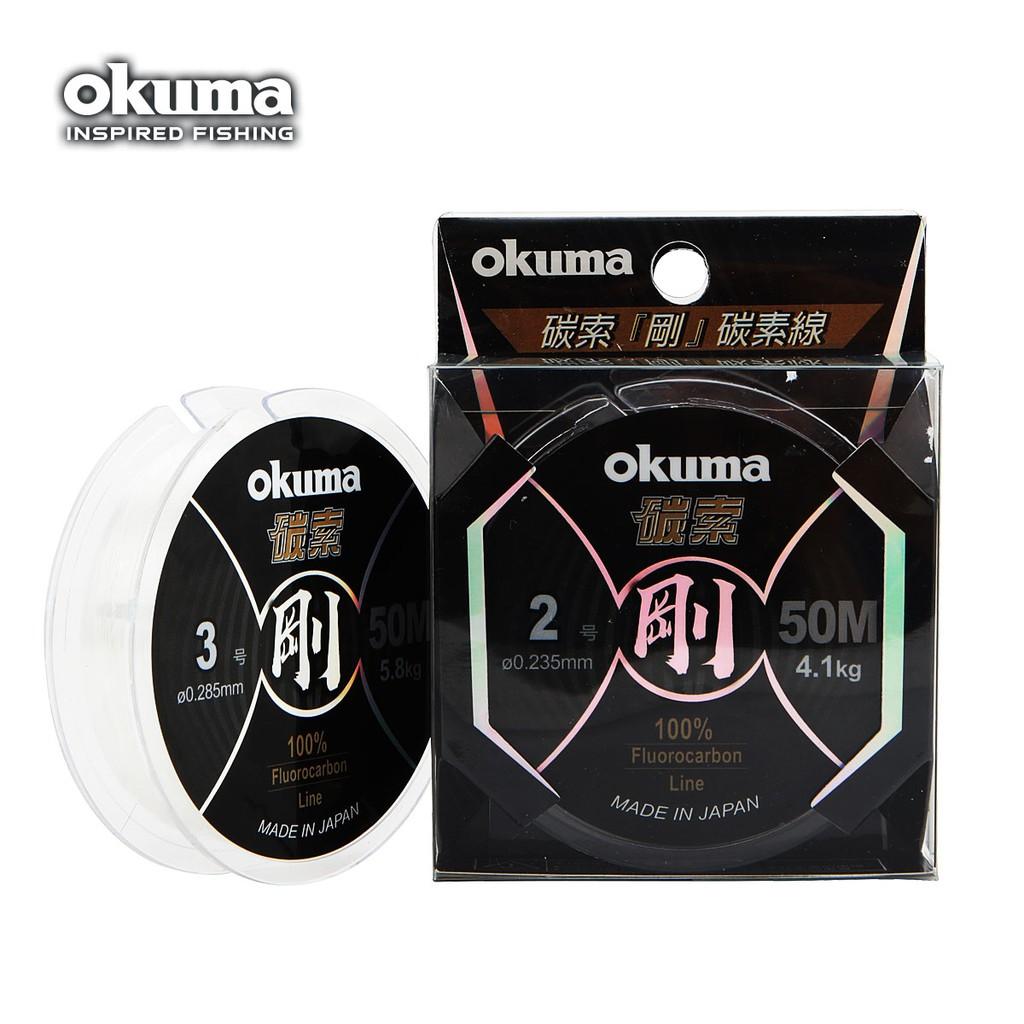 OKUMA 碳索 剛 50 米 碳纖線