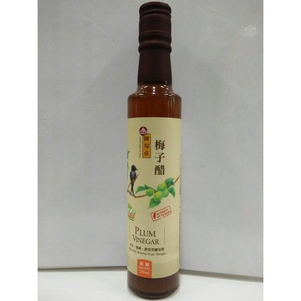 陳稼莊 梅子醋(加糖) 酵釀果醋 250ml/瓶