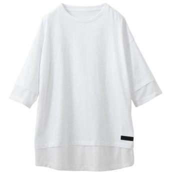 ラブレス MEN ビッグTシャツ ST192CS006 メンズ ホワイト1 S 【LOVELESS】