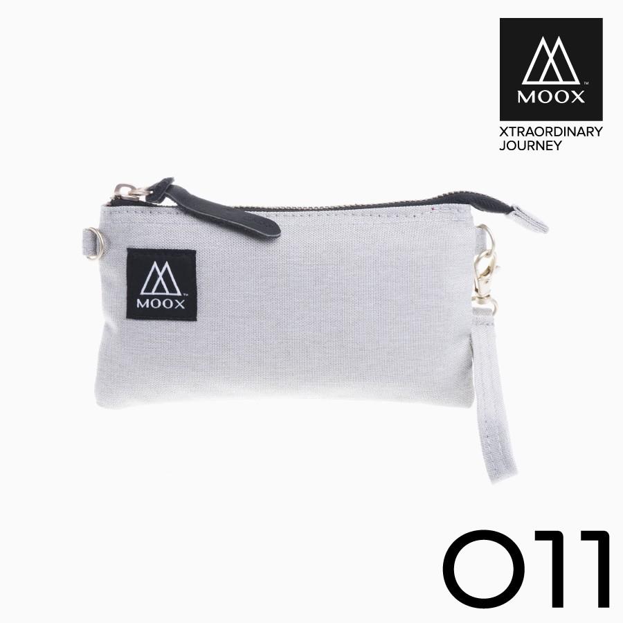【穆克斯MOOX】 O11G 經典萬用收納包(雅痞灰)