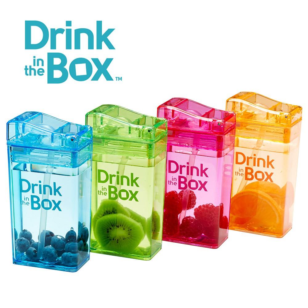 水杯 水壺 幼兒吸管水杯 / 水壺 235ml - Drink in the box 加拿大【YODEE優迪嚴選】