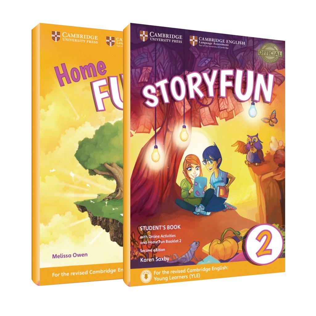 【華泰劍橋】YLE劍橋兒童英檢官方閱讀加強書 Storyfun For Starters 2 SB