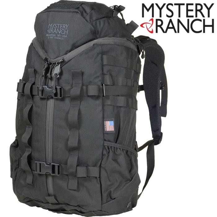 Mystery Ranch 神秘農場軍規背包/突擊/生存戰術包 3Day Assault CL 30L 61160 黑色