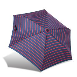 RAINSTORY雨傘-熱力紅條抗UV省力自動傘