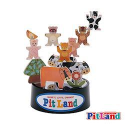 日本PitLand-日製磁鐵趣味玩具(牧場)