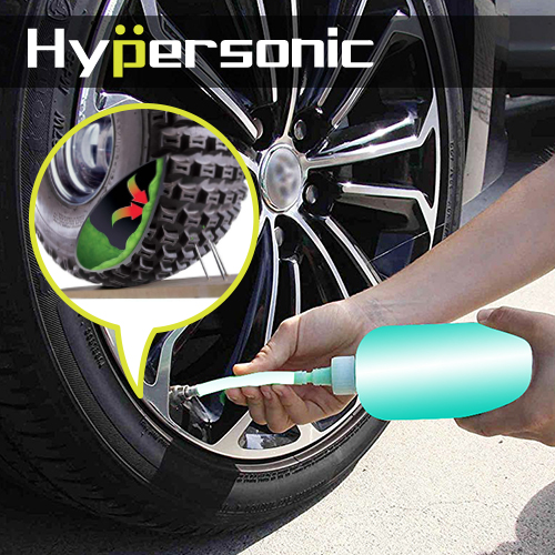 Hypersonic HPA328 速補汽車補胎組 道路救援 補胎液 車用打氣機 胎壓偵測 輪胎漏氣 汽機車適用