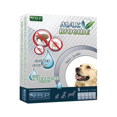 西班牙NBP天然寵物驅壁蝨除跳蚤滴劑5劑入(狗/貓用)【二入組】『WANG』