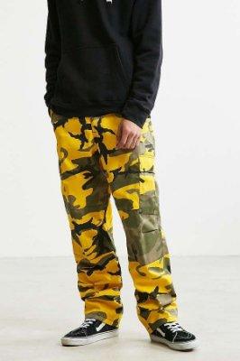 [Y A V] ROTHCO 美國總公司正式授權經銷 - B.D.U 軍裝休閒  迷彩長褲 黃色 S, M 號 現貨