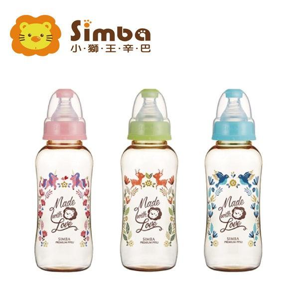 小獅王辛巴Simba 桃樂絲PPSU標準葫蘆大奶瓶320ml (三色可選)