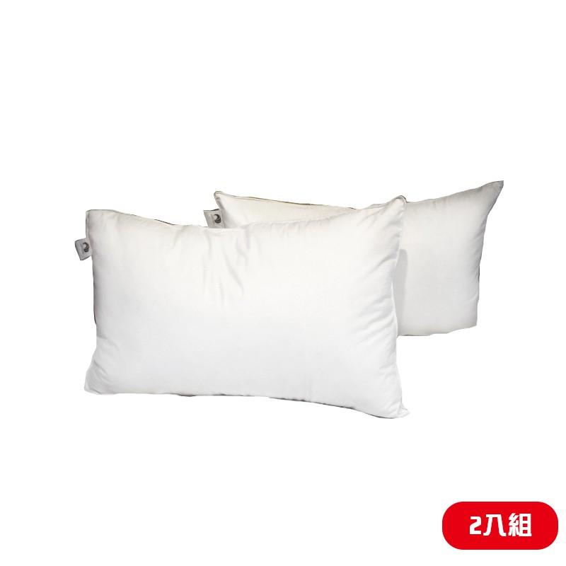 【CENTURY 臺灣 《超值2入組》 舒眠20/80羽毛枕】SG2002/羽絨枕/枕頭