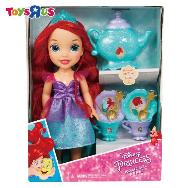 Disney 迪士尼公主娃娃午茶組 玩具反斗城