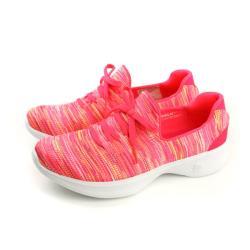 SKECHERS  GOWALK ALL DAY COMFORT 運動鞋 休閒 粉橘色 女鞋 14902HPMT no738