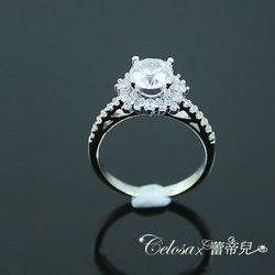 【Celosa珠寶】簡耀晶鑽戒