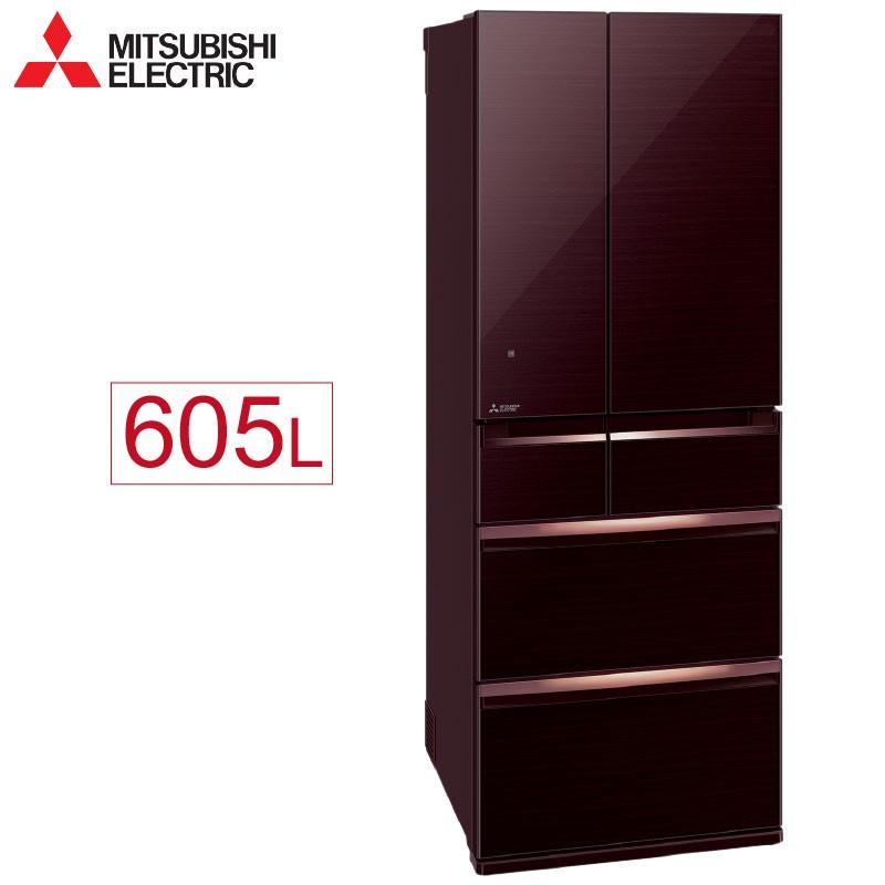 Mitsubishi 三菱 MR-WX61C 605L 變頻六門電冰箱 玻璃鏡面 日本原裝