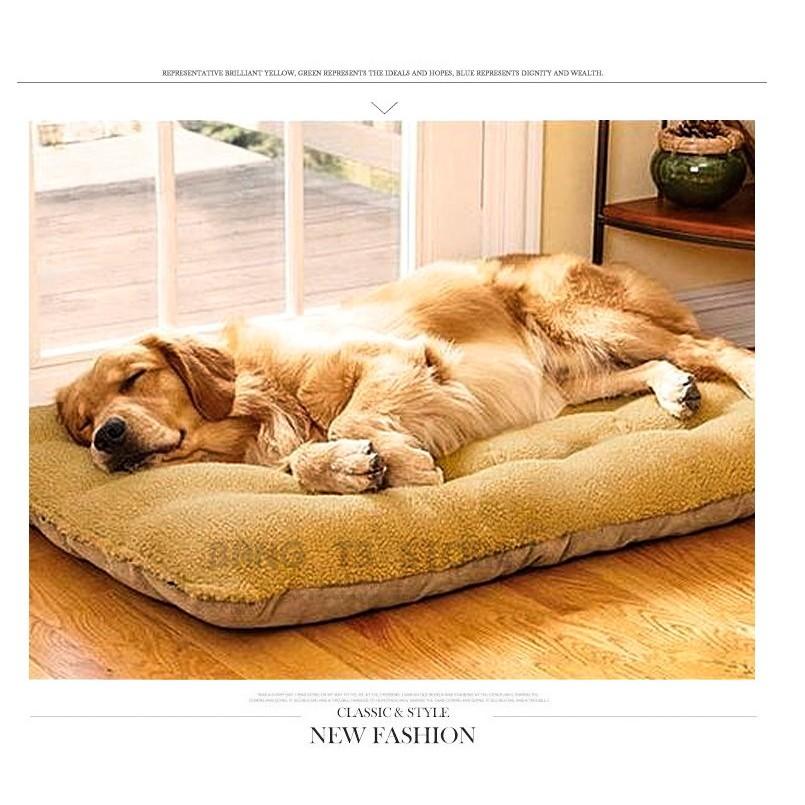 BANG 羊羔絨麂皮絨 狗床 可拆洗 中大型犬專用 睡墊 雙面可用 貓床/寵物窩/貓窩/狗窩/貓【HH16】