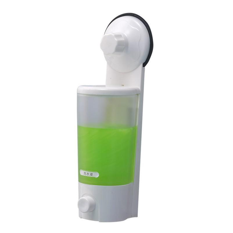 雙慶家居 1900 強力吸盤皂液器洗手液沐浴液雙頭皂液器OOOOOOOOOOO