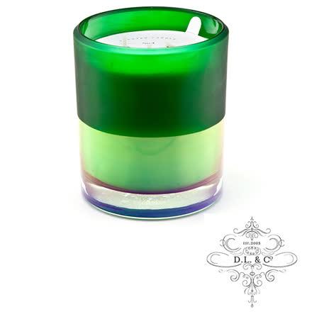 美國 D.L. & CO. ION FROSTED霓虹光瓶系列 Verdant Spruce 蓊鬱雲杉 香氛禮盒 709g