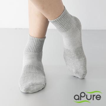 多功吸濕排汗科技運動襪 -灰色