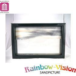 【Rainbow vision】水砂畫-地平線 (亮光黑)
