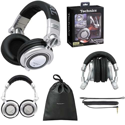日本製 Technics RP-DH1200 專業DJ耳罩式耳機 台灣松下公司貨附保卡保固一年